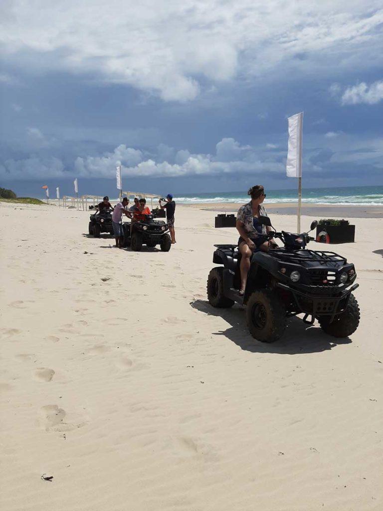 la plus grande plage de l'île Sainte-Marie Madagascar