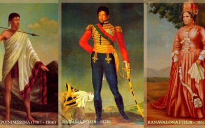 Les Rois de l'IMERINA et de MADAGASCAR
